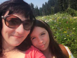 Wildflower Selfie at Tipsoo Lake