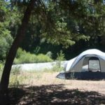 Campsite at Hause Creek Campground