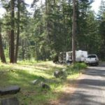 Road at Sawmill Flat Campground