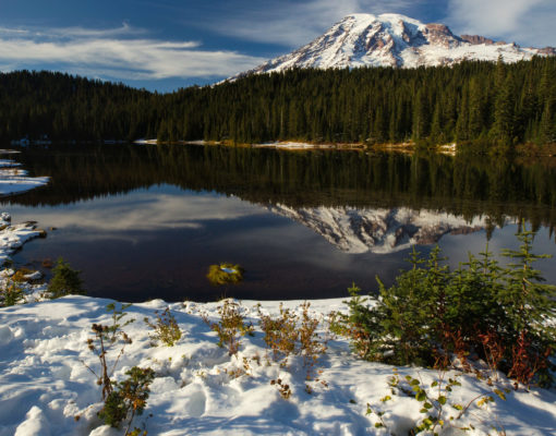 Spring Thaw at Reflection Lakes