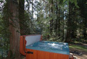 Hot Tub at Three Bears Lodge