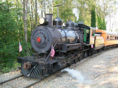 Mt. Rainier Railroad Locomotive