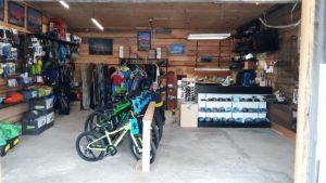 Outdoor gear at Rainier Mountain Sportz