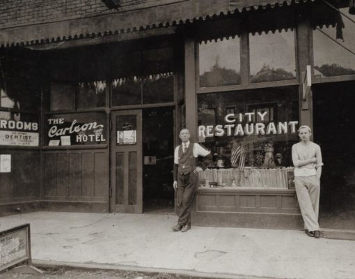 Carlson Block Historical Photo