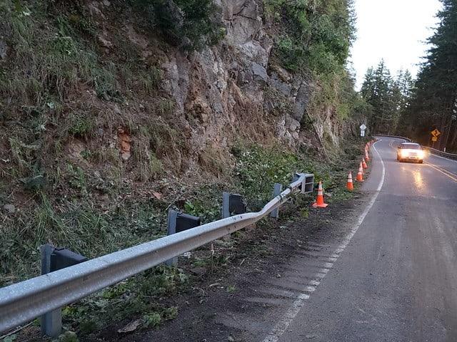 Roadwork on SR 7 North of Alder