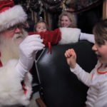 Polar Express Santa with Passenger