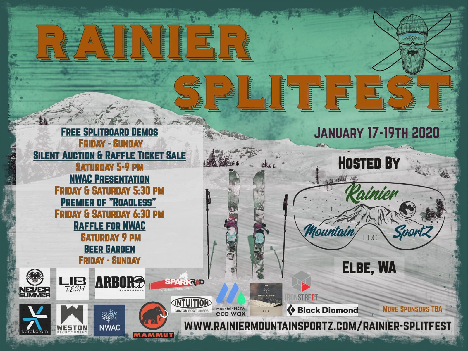Rainier Splitfest