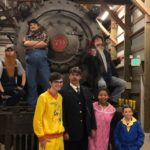 The Polar Express Train Ride cast members
