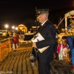 Conductor at Polar Express Train Ride