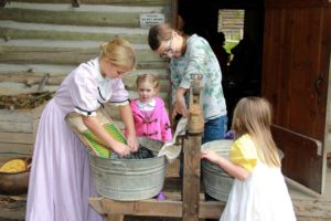 Children can experience pioneer life at Pioneer Farm