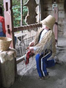 Ohop Indian Village Activity