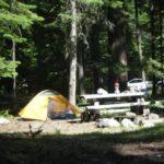 Cedar Springs Campsite with tent