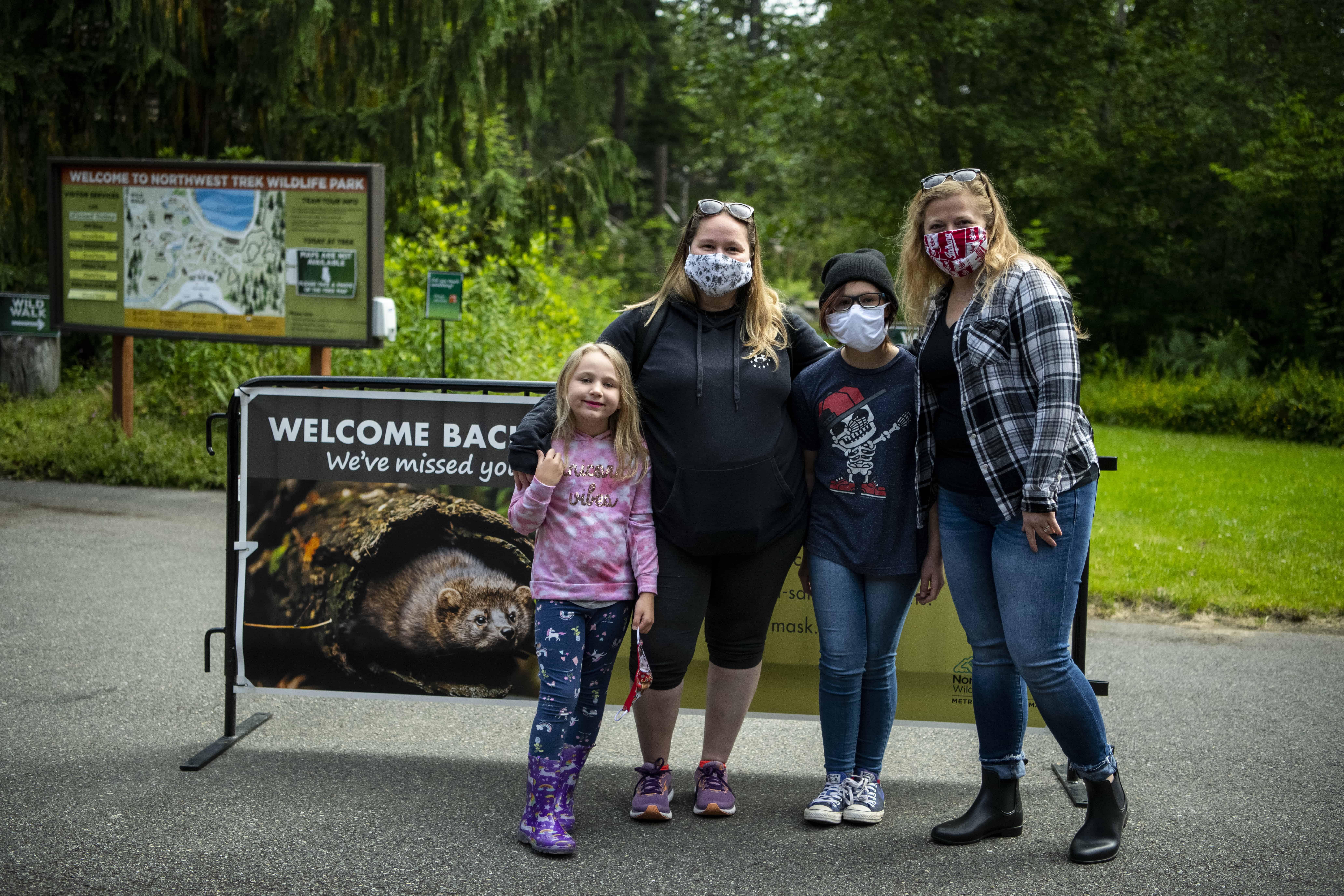 Members enjoy Wild Walk at Northwest Trek Wildlife Park