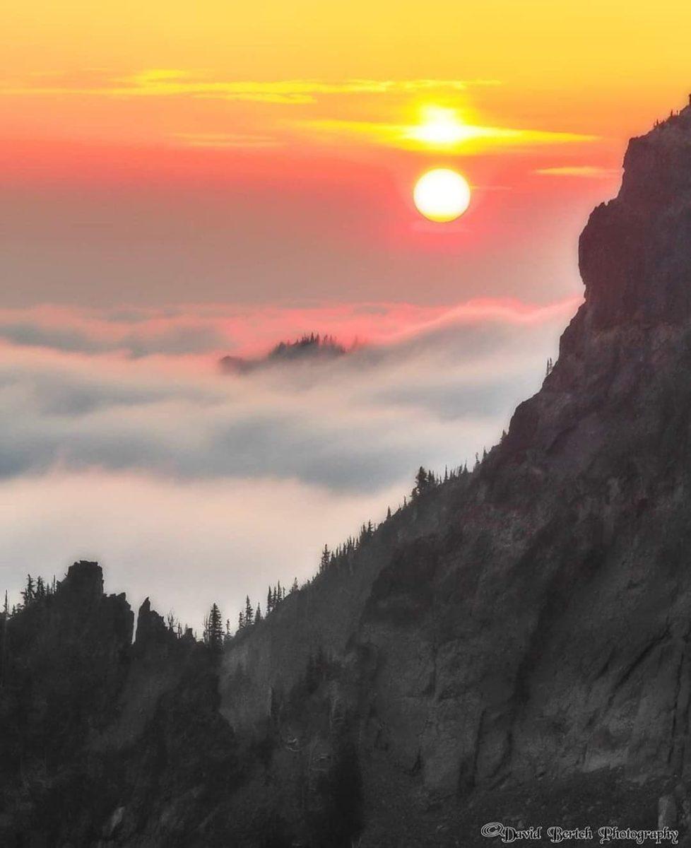 Sunrise at Sourdough Ridge