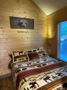 Bedroom at River's Edge