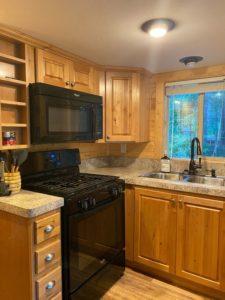 Kitchen at River's Edge