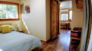 Happy Tails Cabin interior