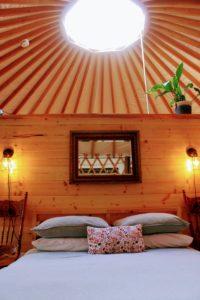 Happy Tails Cabin bedroom