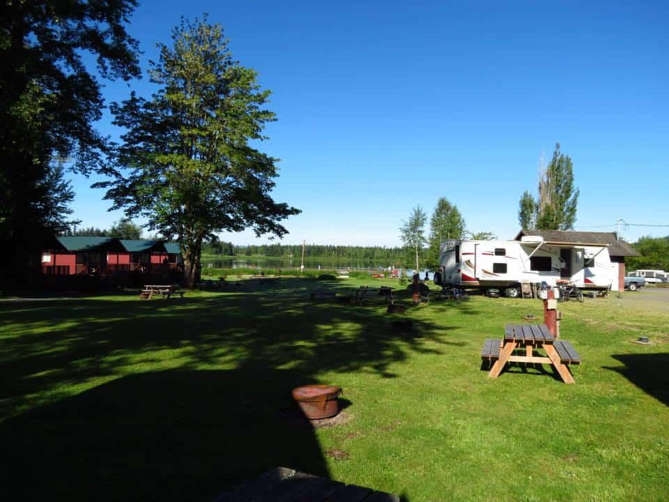 RVs & Camping at Henley's Silver Lake Resort