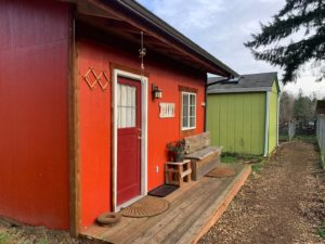 Red Cabin at Left Foot Farm