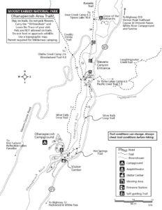 Ohanapecosh Area Trail Map