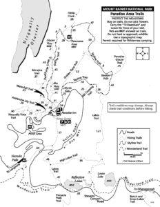 Paradise Area Trail Map
