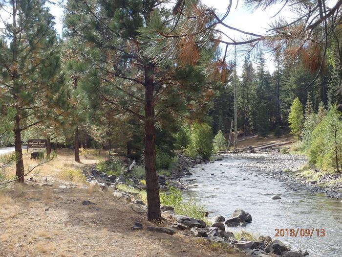 Scenery at Kaner Flat campground
