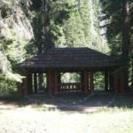 Structure outside at Soda Springs Campground