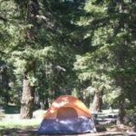 Campsite at Soda Springs Campground