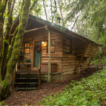 Cabin exterior: Trail's End at Wellspring