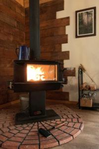 Camp Alder wood stove