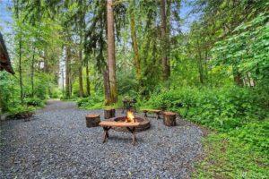 Camp Alder fire pit