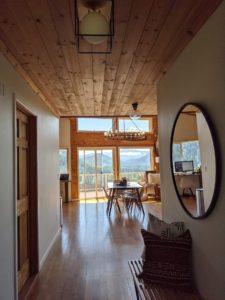 Hallway at Alder Lake Lookout