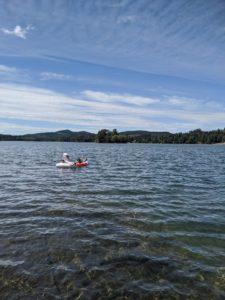 Lake outside Alder Lake Lookout