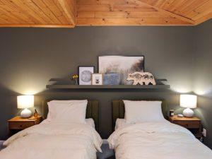 Beds at Alder Lake Lookout