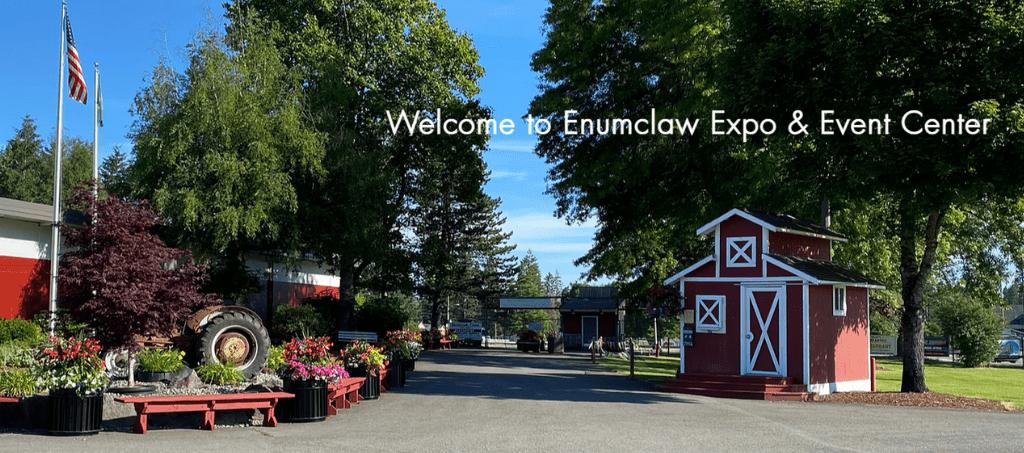 Entrance to Enumclaw Expo Center