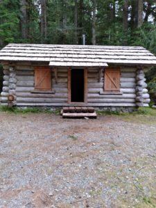 Carbon River Road cabin