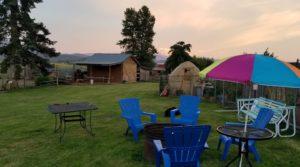 Mason Jar Farm picnic tables
