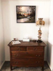 Mason Jar Farm guest room chest of drawers