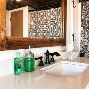Mason Jar Farm bathroom sink
