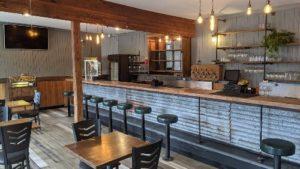 The Trailhead Bar & Grill interior