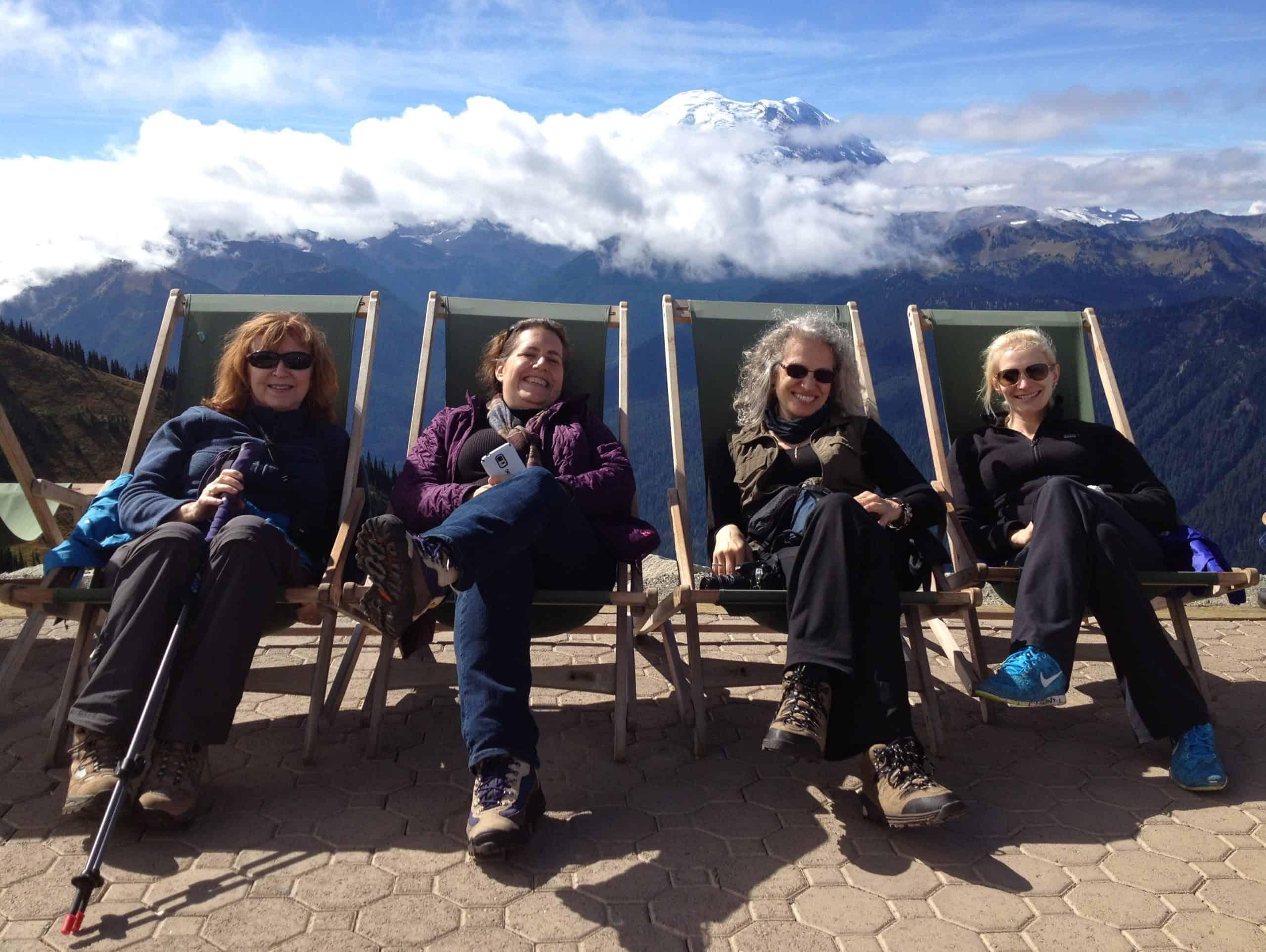 Happy Ladies at Sunrise, Photo Courtesy JJ